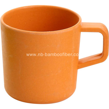 Bamboo Fiber Children`s Cylinder Holder Cup